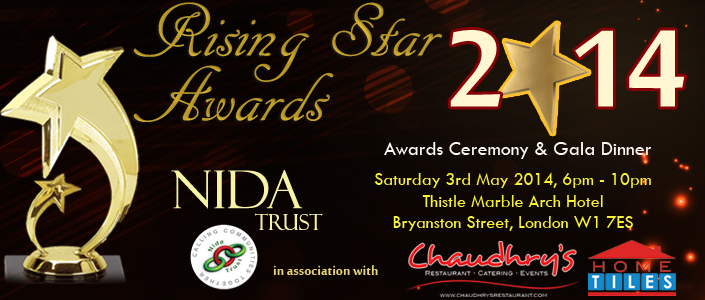 Rising Star Awards by Nida Trust